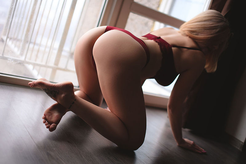 sexy blondie at your